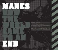 Manes - How The World Came To An End CD (album) cover