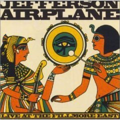 Jefferson Airplane - Live At The Filmore East CD (album) cover