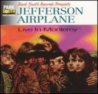Jefferson Airplane - Live At The Monterey Festival CD (album) cover