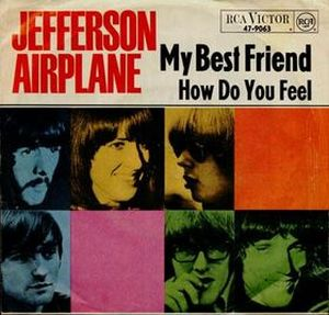 Jefferson Airplane - My Best Friend CD (album) cover