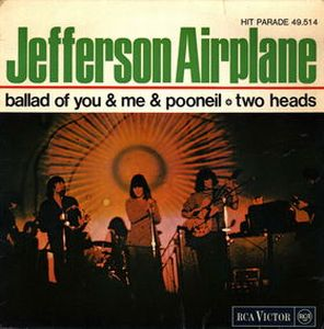 Jefferson Airplane - The Ballad Of You And Me And Pooneil CD (album) cover