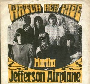 Jefferson Airplane - Watch Her Ride CD (album) cover