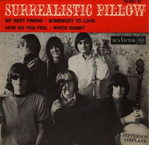 Jefferson Airplane - Surrealistic Pillow Ep CD (album) cover