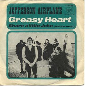 Jefferson Airplane - Greasy Heart CD (album) cover