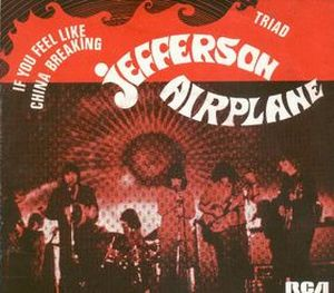 Jefferson Airplane - If You Feel Like China Breaking CD (album) cover