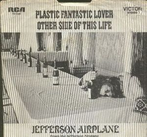 Jefferson Airplane - Plastic Fantastic Lover (live) CD (album) cover