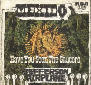 Jefferson Airplane - Mexico CD (album) cover