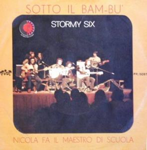 Stormy Six - Sotto Il Bambù CD (album) cover
