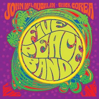 JOHN MCLAUGHLIN - Five Peace Band (with Chick Corea) CD album cover