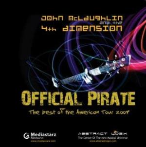 JOHN MCLAUGHLIN - Official Pirate: The Best Of The American Tour CD album cover