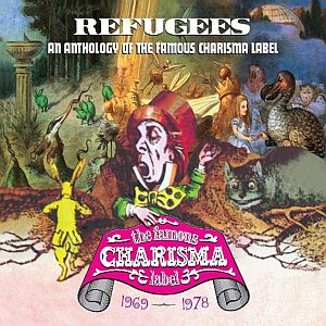 Various Artists (label Samplers) - Refugees: A Charisma Records Anthology 1969-1978 CD (album) cover