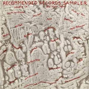 Various Artists (label Samplers) - Recommended Records Sampler (1982) CD (album) cover