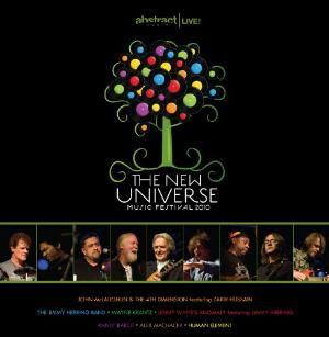 Various Artists (label Samplers) - The New Universe Music Festival 2010 CD (album) cover