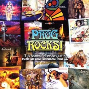 Various Artists (label Samplers) - Prog Rocks ! CD (album) cover