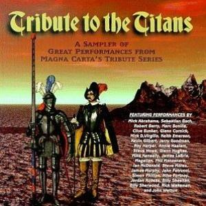 Various Artists (label Samplers) - Tribute To The Titans CD (album) cover