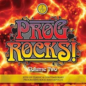 Various Artists (label Samplers) - Prog Rocks 2 CD (album) cover