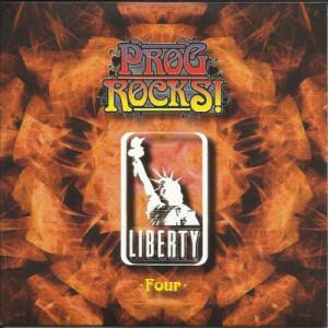 Various Artists (label Samplers) - Prog Rocks! (cd 4: Liberty) CD (album) cover