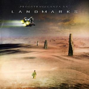 Various Artists (label Samplers) - Prog Sphere Promotions - Progstravaganza Xx: Landmarks CD (album) cover