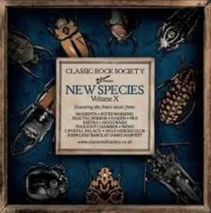 Various Artists (label Samplers) - Classic Rock Society: New Species - Volume X CD (album) cover