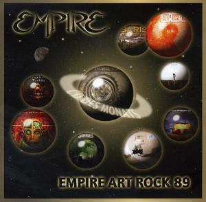 Various Artists (label Samplers) - Empire Art Rock 89 CD (album) cover