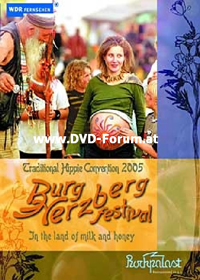 Various Artists (concept Albums & Themed Compilations) - Traditional Hippie Convention 2005 : Burg Herzberg Festival 2005 DVD (album) cover