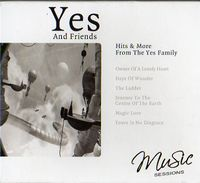 Various Artists (concept Albums & Themed Compilations) - Yes And Friends: Hits & More From The Yes Family CD (album) cover