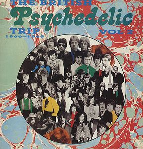 Various Artists (concept Albums & Themed Compilations) - The British Psychedelic Trip Vol. 2 CD (album) cover