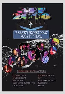 Various Artists (concept Albums & Themed Compilations) - 3rp Fest Live 2008 DVD (album) cover