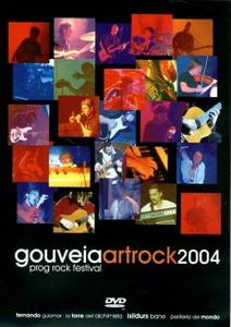 Various Artists (concept Albums & Themed Compilations) - Gouveia Art Rock 2004 DVD (album) cover