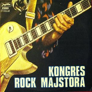 Various Artists (concept Albums & Themed Compilations) - Kongres Rock Majstora CD (album) cover