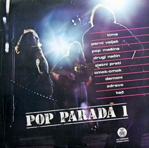 Various Artists (concept Albums & Themed Compilations) - Pop Parada 1 CD (album) cover