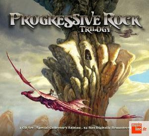 Various Artists (concept Albums & Themed Compilations) - Progressive Rock Trilogy CD (album) cover