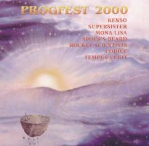 Various Artists (concept Albums & Themed Compilations) - Progfest 2000 CD (album) cover