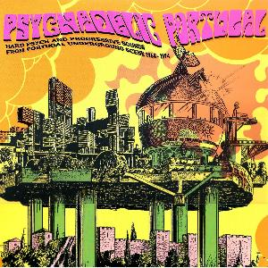 Various Artists (concept Albums & Themed Compilations) - Psychedelic Portugal - Hard Psych And Progressive Sounds From Portugal Underground Scene 1968-1974 CD (album) cover