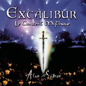 Various Artists (concept Albums & Themed Compilations) - Excalibur: Le Concert Mythique CD (album) cover
