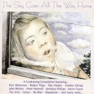 Various Artists (concept Albums & Themed Compilations) - The Sky Goes All The Way Home CD (album) cover