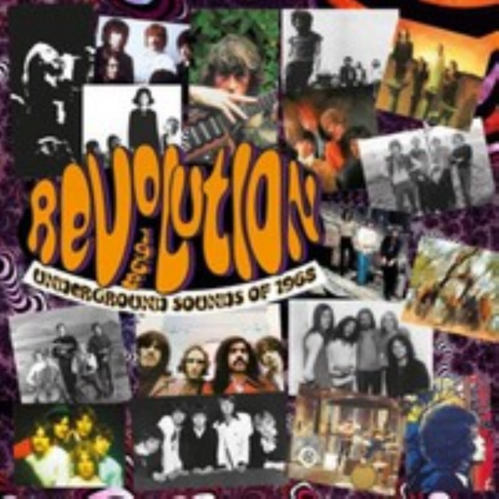 Various Artists (concept Albums & Themed Compilations) - Revolution: Underground Sounds Of 1968 CD (album) cover