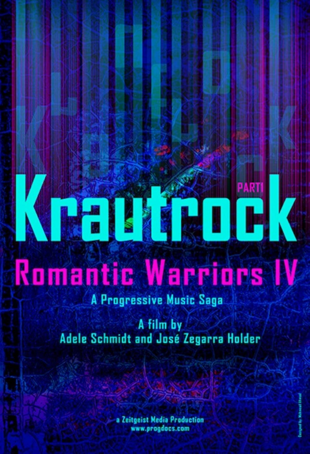 Various Artists (concept Albums & Themed Compilations) - Romantic Warriors Iv: Krautrock, Part I DVD (album) cover