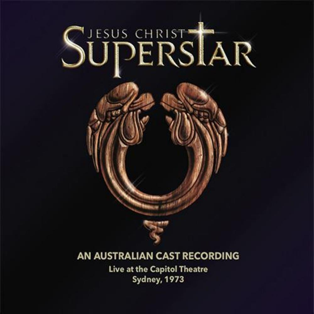 Various Artists (concept Albums & Themed Compilations) - Jesus Christ Superstar: An Australian Cast Recording, Live At The Capitol Theatre, Sydney, 1973 CD (album) cover