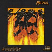 Carlos Santana - Marathon CD (album) cover