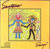 Carlos Santana - Shango CD (album) cover
