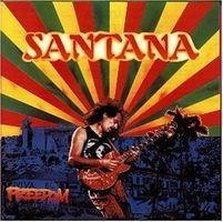 Carlos Santana - Freedom CD (album) cover