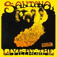Carlos Santana - Live At The Filmore, 1968 CD (album) cover