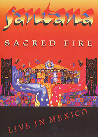 Carlos Santana Sacred Fire CD album cover