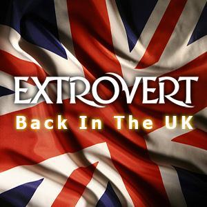 Extrovert - Back In The Uk (tribute To Classic Of Rock) CD (album) cover