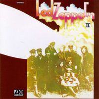 LED ZEPPELIN - Led Zeppelin II CD album cover