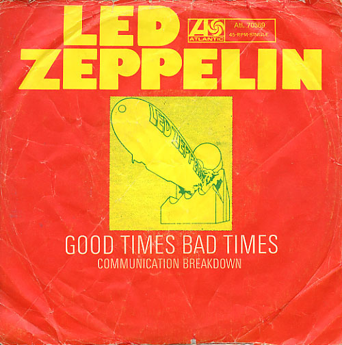 Led Zeppelin - Good Times Bad Times CD (album) cover