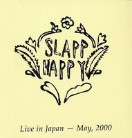 Slapp Happy - Live In Japan CD (album) cover