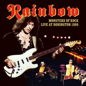RAINBOW - Monsters Of Rock Live At Donington 1980 CD album cover