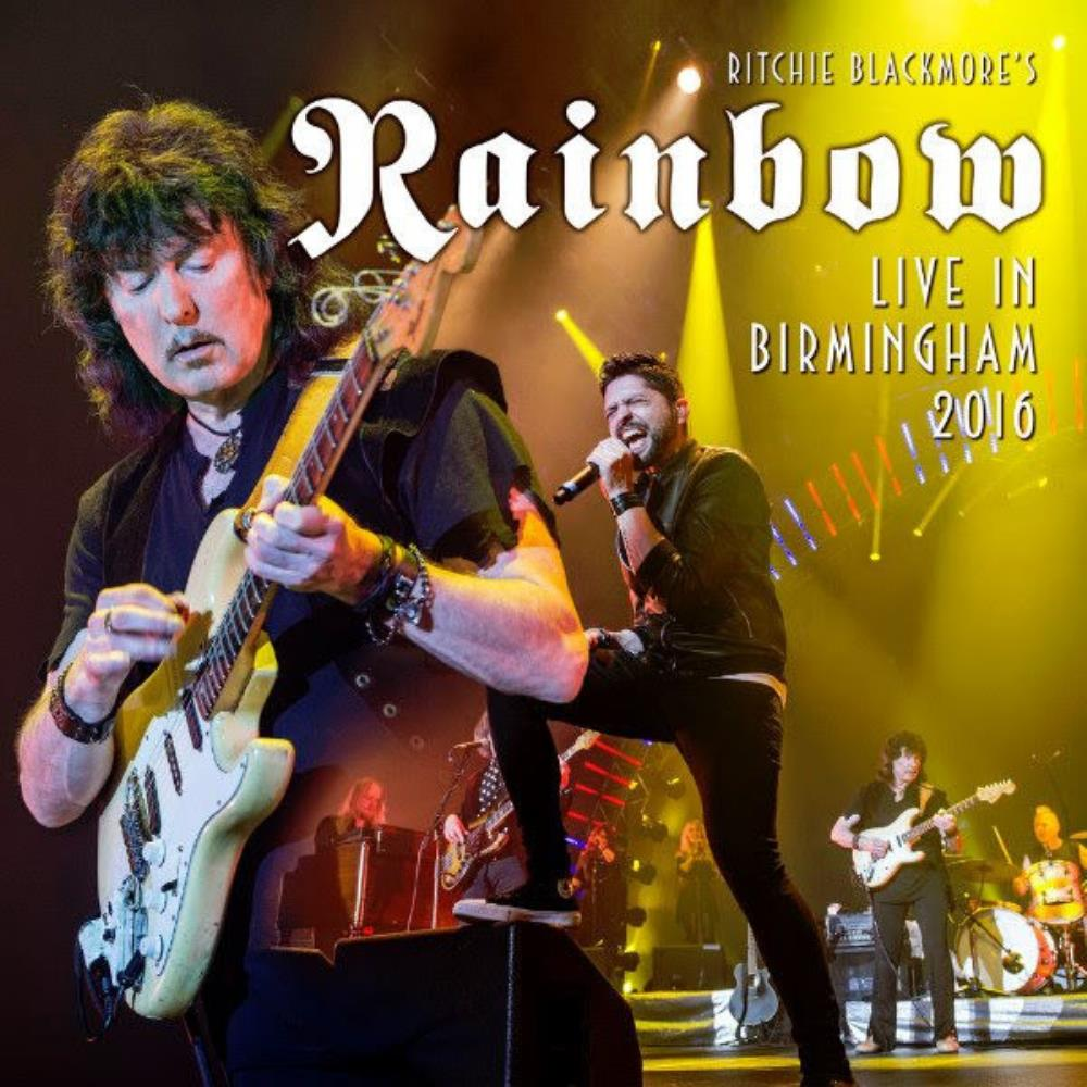 Rainbow - Live In Birmingham 2016 CD (album) cover